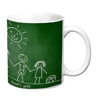 Prithish Friends Are God's Gift White Mug