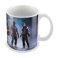 Marvel Civil War Team Fight Ceramic Mug