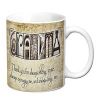 Prithish Grandma, Thank You White Mug