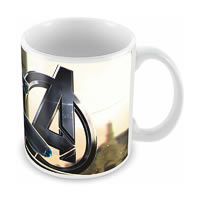 Marvel Black Widow - Avengers Ceramic Mug