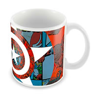Marvel Classic Captain America - 75 Years Ceramic Mug