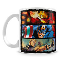 Marvel In Action - Avengers Assemble Ceramic Mug