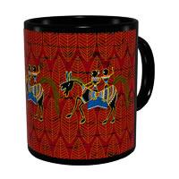 Kolorobia Classic Warli Classic Black Mug