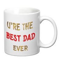 Prithish Ur The Best Dad Ever White Mug