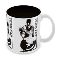 Marvel Civil War - Team Cap Ceramic Mug