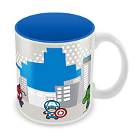 Marvel Avengers Kawaii Art Ceramic Mug