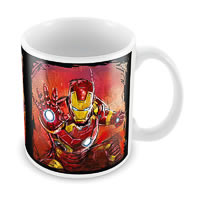 Marvel Iron Man Sketch Ceramic Mug