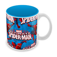 Marvel Ultimate Spider-Man Blue Ceramic Mug
