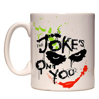 Warner Brothers Joker The Joke's on You Mug