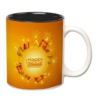 Prithish Diwali Design 1 Double Color Mug