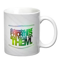 Prithish Determine Your Priorities And Focus White Mug