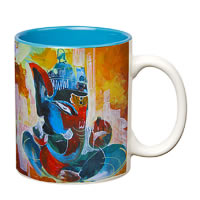 Prithish Ganpati Bappa Design 5 Double Color Mug