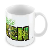 Marvel Code Green - Avengers Ceramic Mug