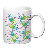 Prithish Colour Splash Design 1 White Mug