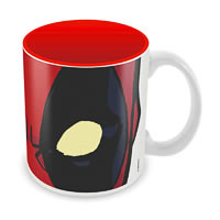 Marvel Deadpool Eyes Ceramic Mug