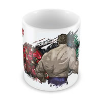 Marvel Avengers - Hulk - Iron Man Ceramic Mug