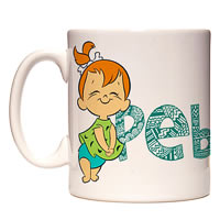 Warner Brothers The Flintstones - Pebbles Mug