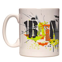 Warner Brothers Batman Colorful Logo Mug