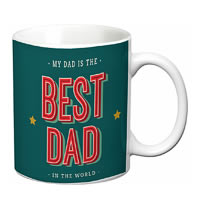 Prithish Best Dad In The World White Mug