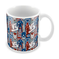 Marvel Civil War - Captain Vs Iron Ceramic Mug