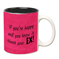 Prithish Thank Your Ex Double Color Mug