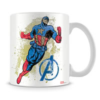 Marvel Captain America Chase Ceramic Mug