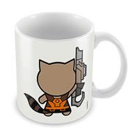 Marvel Raccoon - Kawaii Ceramic Mug