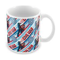 Marvel Civil War - Captain Action Ceramic Mug