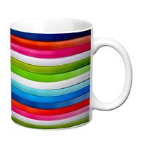Prithish Abstract Design 44 White Mug