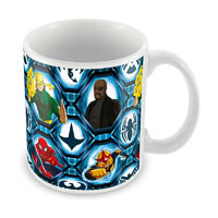 Marvel Ultimate Spider-Man All Cast Ceramic Mug