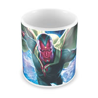 Marvel Vision in Action - Avengers Ceramic Mug