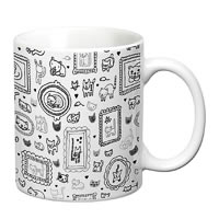 Prithish Cats Design 3 White Mug