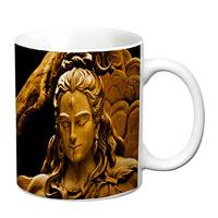 Prithish Shiva Statue White Mug