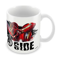 Marvel Civil War - Join Captain America Ceramic Mug
