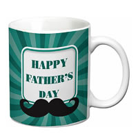 Prithish Happy Father's Day Design 4 White Mug