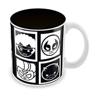 Marvel Kawaii Art - Sketch Ceramic Mug