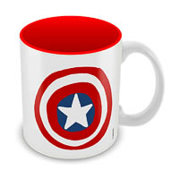 Marvel Captain America - 75 Years Classic Design Ceramic Mug