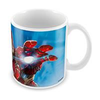 Marvel Civil War - Iron Man Action Ceramic Mug