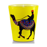 Kolorobia Desert Camel Shot Glass, 30 ml - set of 2