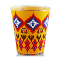 Kolorobia Superb Ikat Shot Glass, 30 ml - set of 2