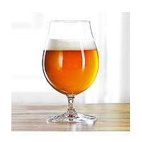 Spiegelau Beer Classics Tulip Stemmed Pilsner Crystal Beer/Wine Glass, 440 ...