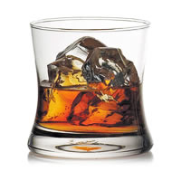 Ocean Tango Rock Whisky Glass, 350 ml - set of 6