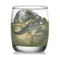 Ocean Ivory Rock Water Glass, 265 ml - set of 6