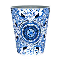 Kolorobia Fabulous Turkish Blue Shot Glass, 30 ml - set of 2
