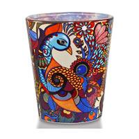 Kolorobia Exotic Peacock Shot Glass, 30 ml - set of 2