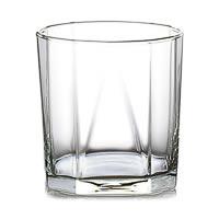 Ocean Pyramid Multi-Facade Designer Whisky Glass, 330 ml - set of 6