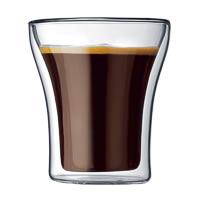 Bodum Assam Double Wall Glass, Small 200 ml - set of 2