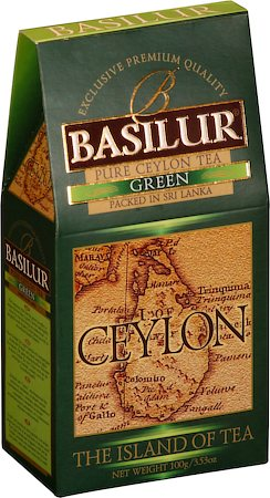 Basilur The Island of Tea Ceylon Green Loose Leaf 100 gm