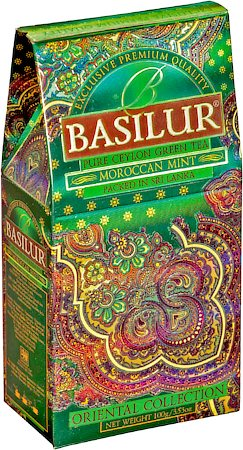 Basilur Oriental Collection Moroccan Mint Loose Leaf Tea 100 gm