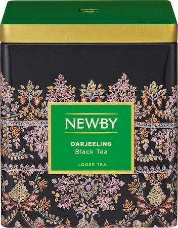 Newby Classic Darjeeling Loose Leaf Black Tea, 125 gm Caddy